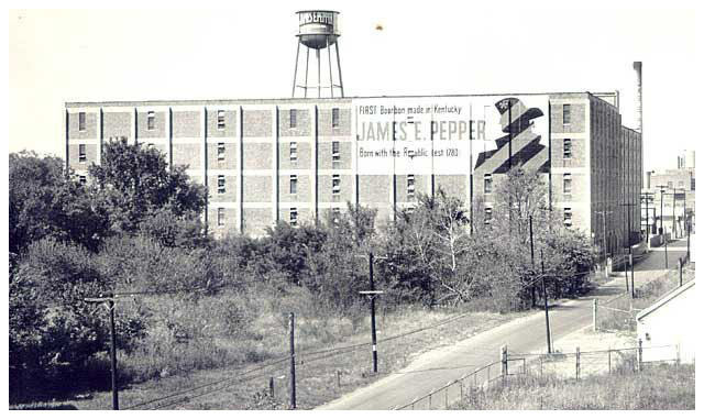 James E. Pepper distillery in Lexington