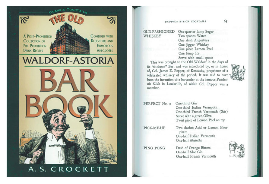 Old-Fashioned Whiskey Recipe - Pre-Prohibition