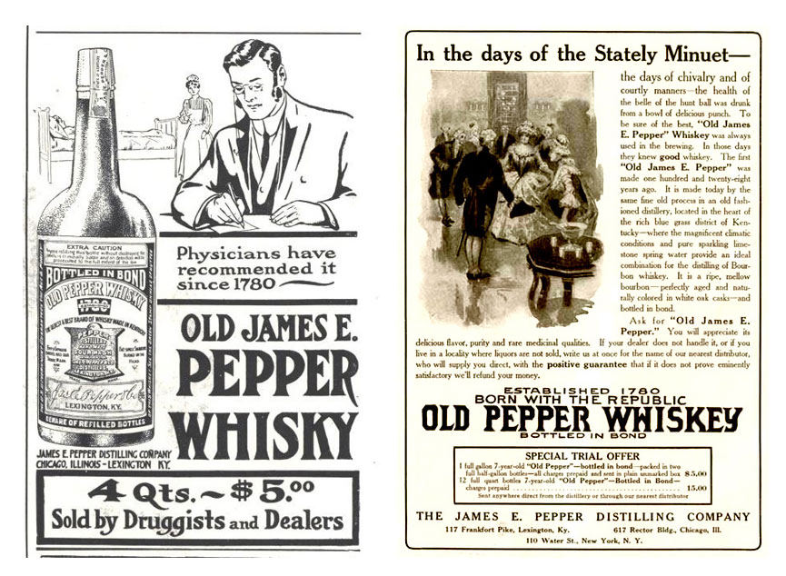 Old Pepper Whiskey