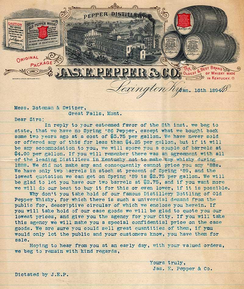 pepper letter 1894