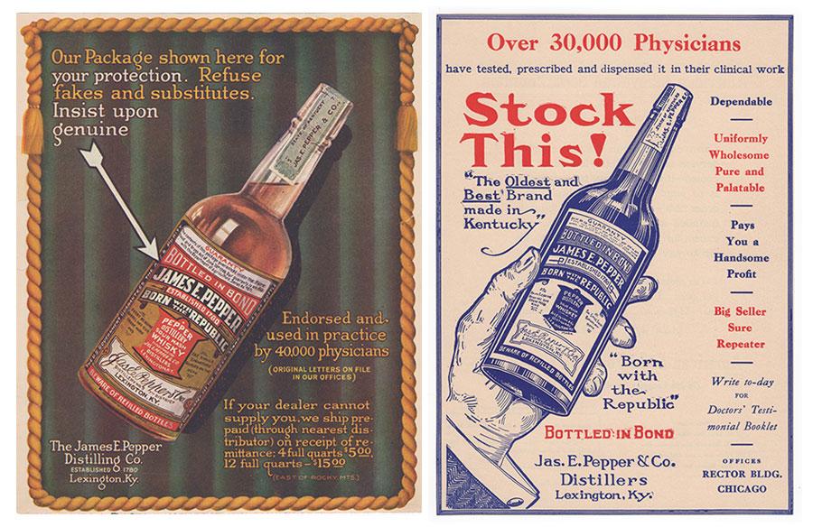 old pepper doctors ads