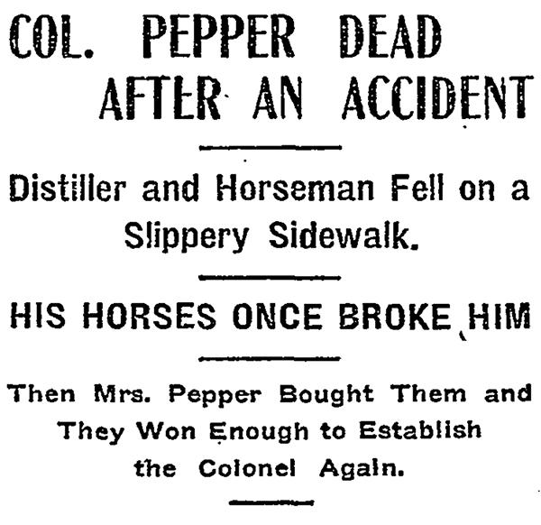 nytimes pepper dies in waldorf