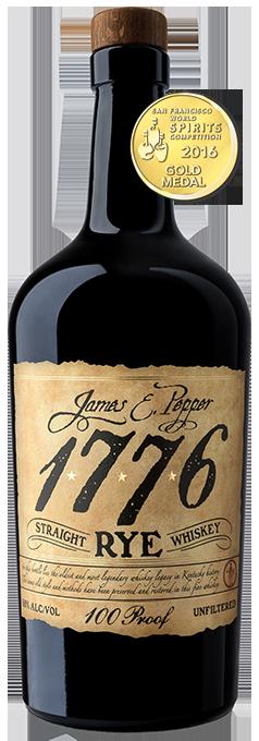 James E Pepper Rye 100 Proof