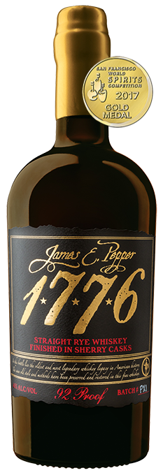 James E Pepper Rye Sherry Casks