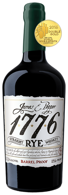 James E Pepper Rye Barrel Proof