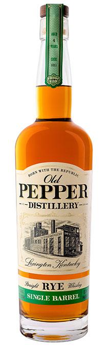 Old Pepper - Single Barrel Selections